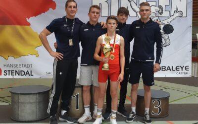 Gold für Niklas Steiner bei DM in Stendal